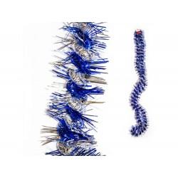 Fita de natal azul 2.7mt x 8cm