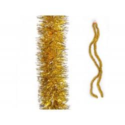 Fita de natal dourada 2.7mt x 5cm