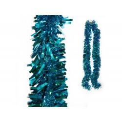 Fita de natal azul 2mt x 11cm