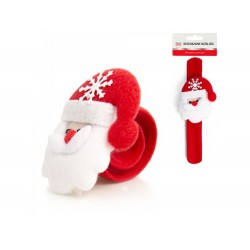 Bracelete c/ pai natal c/ led