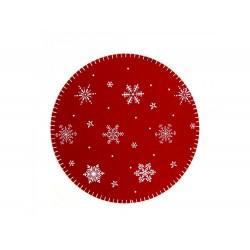Naperon natalício 35cm diâmetro